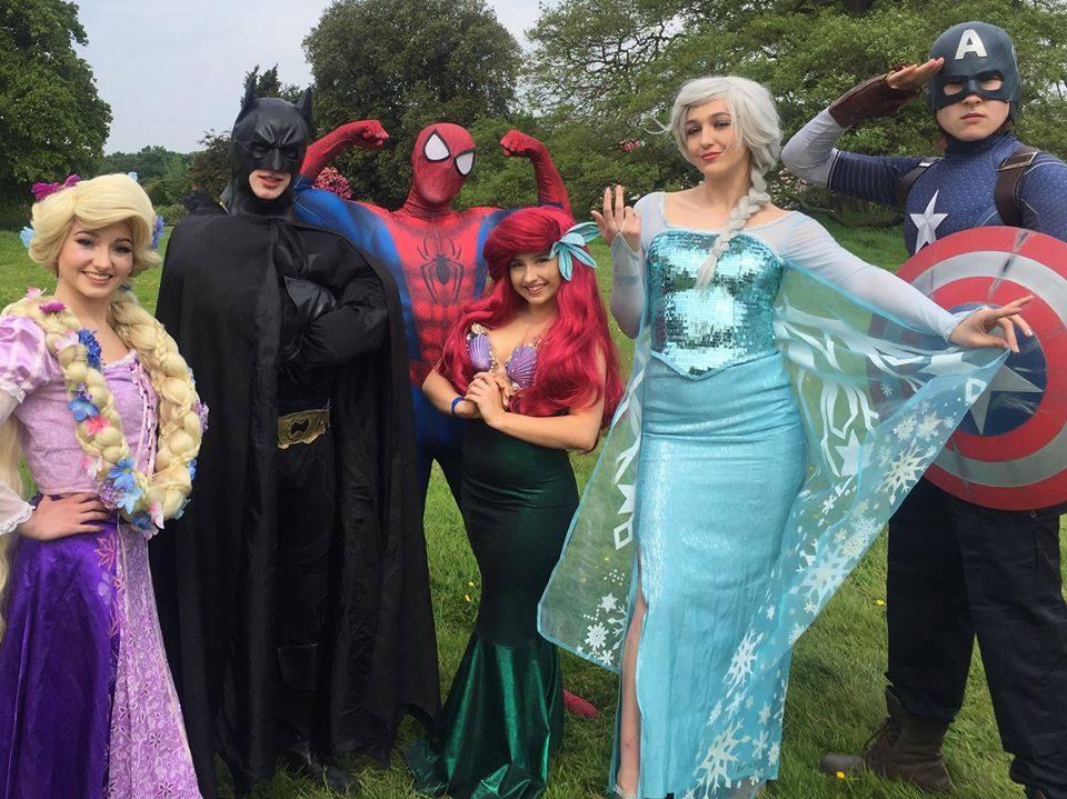 Superhero Princess Party